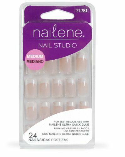 Nailene Nail Studio Pink French Medium Nails