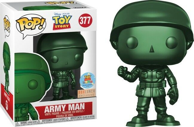 TOY STORY ARMY MAN METALLIC BOX LUNCH FUNKO EXCLUSIVE RARE