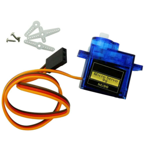 UK SG90 Micro Servo Motor 9G RC Robot Arm Helicopter Airplane Remote Control
