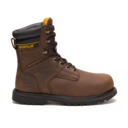 "Caterpillar Men Salvo 8/"" Waterproof Steel Toe Thinsulate™ Work Boot"