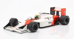 Ayrton Senna McLaren Honda MP4/4 F1 model race car Japan GP 1988 1:18 IXO 18002