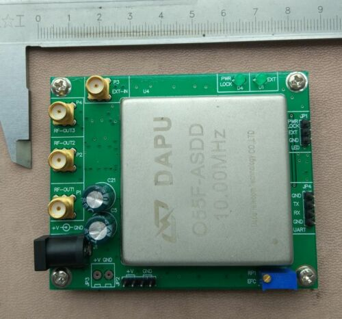 10MHZ frequency OCXO board ,  OUT 10 kHZ - 180MHZ is adjustable