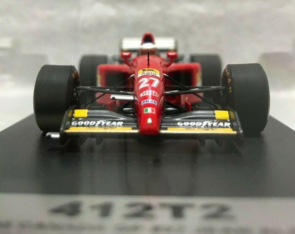 FERRARI 412T2  27 Jean Alesi 1995 Canadian Grand Prix looksmart 1 43 Japon 1000 Limited