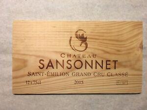 1-Rare-Wine-Wood-Panel-Chateau-Sansonnet-Vintage-CRATE-BOX-SIDE-8-19-1117