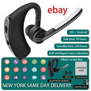 V8 Wireless Bluetooth Headset Stereo Headphone Earphone Sport Handfree Universal Ebay