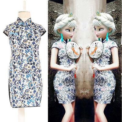Brand New Stylish Chinese Kid Girl Baby Floral Cheongsam Dress Qipao Ys 3~8Y