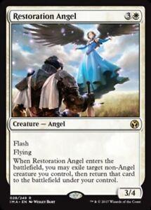 Restoration Angel x4 NM Magic the Gathering 4x Iconic Masters mtg card lot
