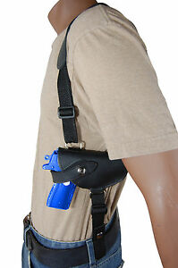 NEW Barsony Black Leather Shoulder Holster for Kimber Ruger Small 380 Ultra-Comp