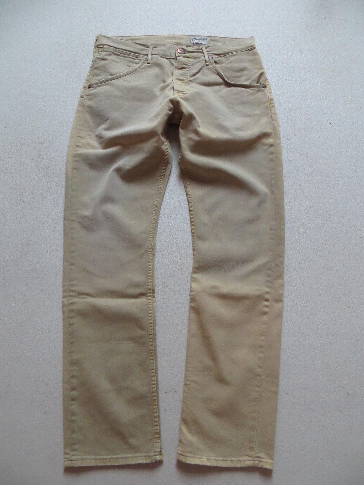 Wrangler BEN Jeans Hose, Röhre, W 33  L 32, coulored Vintage Denim mit Stretch