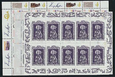 Original Bund 1912/14 Postfrisch / Zehnerbögen (423) ....................................