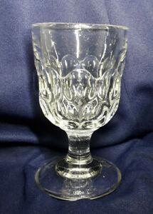 Victorian-three-part-pressed-glass-Tavern-Rummer-C1890-Good-Condition-Heavy