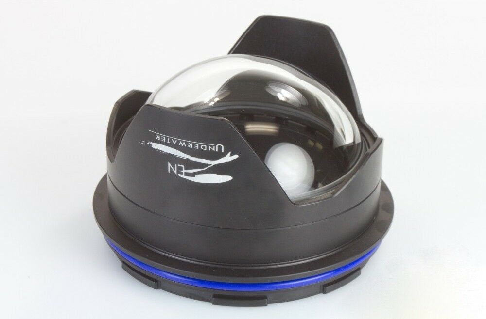Zen 100mm Optical Glass Fisheye Dome Port Nauticam for Tokina 10-17mm etc lenses