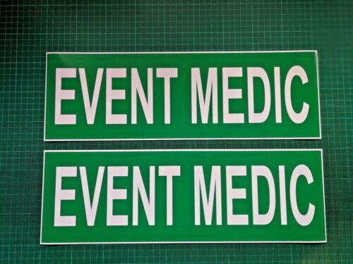 EVENT MEDIC MAGNET UNIT Ambulance Emergency Service Paramedic Magnets 460mm x2