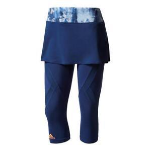 Creo que Ardilla entregar  Adidas Womens Melbourne Line Tennis Skirt with Leggings - RRP £60! | eBay