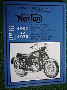 Norton-JUBILEE-NAVIGATOR-ELECTRA-88-99-650SS-750-ATLAS-G15-CS-Manual-1957-1970