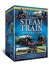 Classic Steam Train Collection (DVD, 2008, 8-Disc Set, Box Set)