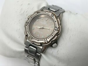 FreeStyle-Women-Watch-Analog-Water-Resistant-330FT-Silver-Tone-Wrist-Watch