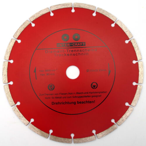 Angebot Diamanttrennscheibe Trennscheibe für Winkelschleifer Ø230mm Beton MAG/_3