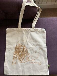 Alberto Giacometti ARTIST DESIGNED TOTE BAG   Skull