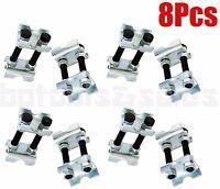 8pcs Mini Coil Sring Compressor Adjustable Spring Struts Shocks Adjuster Tools
