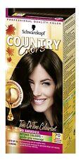 Schwarzkopf Country Colours 70 Brazil Nut Dark Brown Semi-Permanent Hair Dye x1