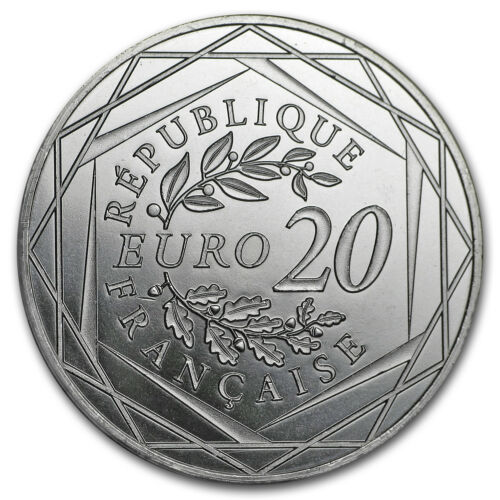 SKU#159531 Face Value Coin 2018 France Silver €20 Marianne