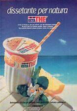 Pubblicità Advertising 1989 ESTATHE' FERRERO