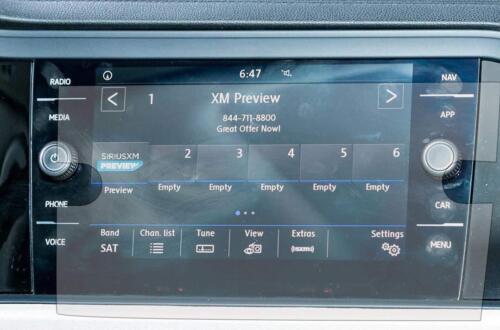 "Set of 2 2018 2019 VW Tiguan Altas 8/"" Navigation Infotainment Display Protector"