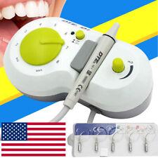 Dte D1 Dental Piezo Ultrasonic Scaler Handpiece With 5 Tips For Woodpecker Satelec
