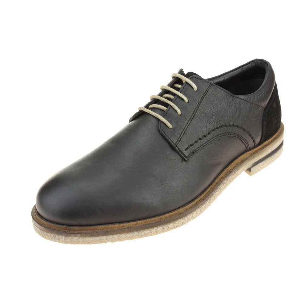 Josef Seibel Stanley 04 Para Hombre Zapato Negro