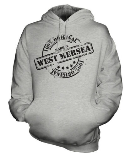Made in West Mersea Unisexe Sweat À Capuche Hommes Femmes Femmes Cadeau Noël Anniversaire