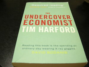 undercover economist Written by tim harford, narrated by robert ian mackenzie download the app and start listening to the undercover economist today - free with a 30 day trial keep your audiobook forever, even if you cancel.