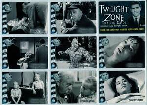 "Twilight Zone Series 4 "" Science and Superstition "" Complete 72 Card Set 2005"
