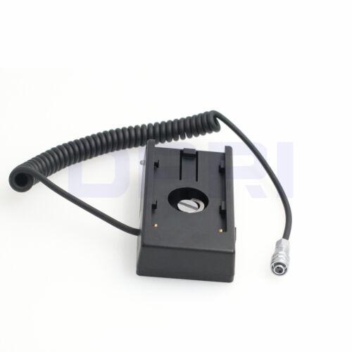 Batería 12V Sony NP-F970 a Blackmagic BMCC 4K BMPCC fuente de alimentación Adaptador de placa