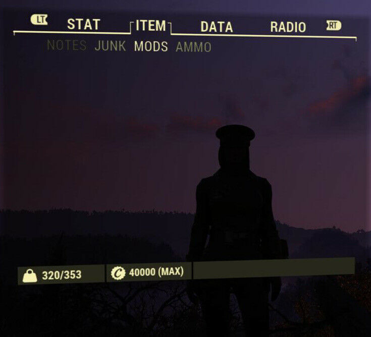 40,000 Caps Max Amount fallout 76 xbox one