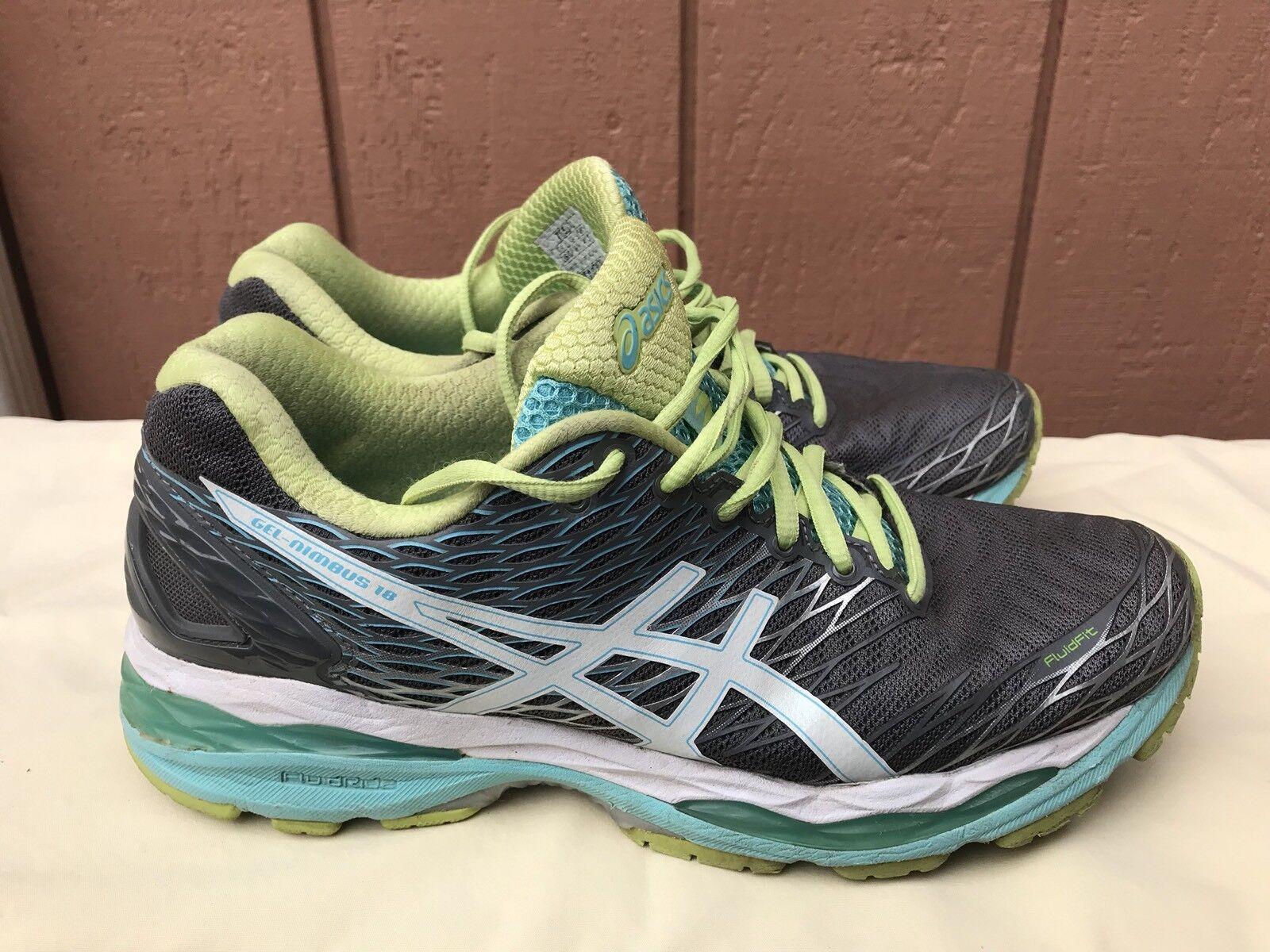 ASICS training Mujer Nimbus 18 t650n Athletic running Cross training ASICS Zapatos US 9,5 A1 nuevos zapatos para hombres y mujeres, el limitado tiempo de descuento abd6a9