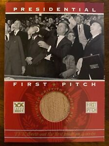 2002-TOPPS-AMERICAN-PIE-PRESIDENTIAL-FIRST-PITCH-JOHN-F-KENNEDY-SEAT-RELIC-JFK