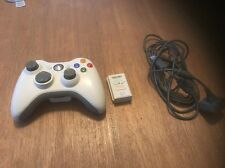 Genuine Microsoft Xbox 360 Wireless Controller & Play and Charge Kit Free Ship