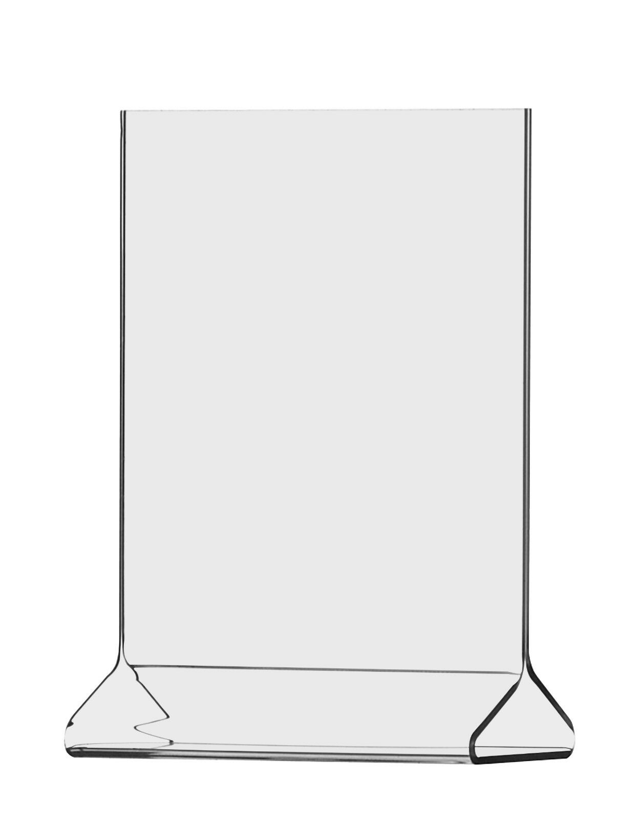 """4""""W x 5""""H Small Frame Two Sided Table Sign Holder Table Tent Lot of 24 Wholesale"""