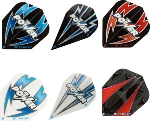 6 Sets 18 Target Dart Flight Flys Pro 100 Power in 2 verschiedenen Formen