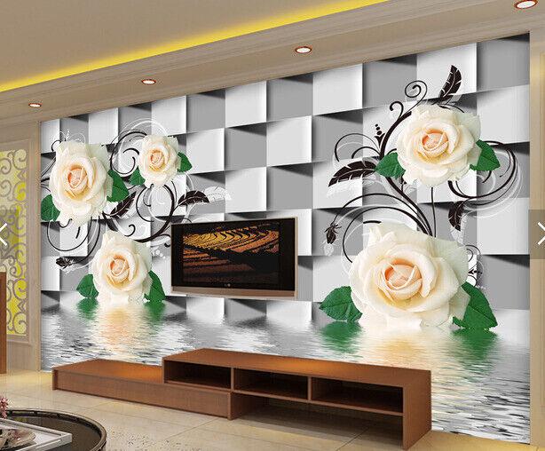 3D Box Blumen Blätter 73 Tapete Tapeten Mauer Foto Familie Tapete Wandgemälde DE