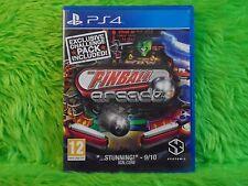 ps4 PINBALL ARCADE 22 Classic Pinball Tables Playstation PAL UK REGION FREE