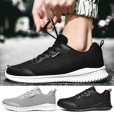 Mens Ultra Lightweight Breathable Mesh Walking Shoes Non Slip Resistant Gym Running Shoes for Mens Jeesina Mens Casual Mesh Athletic Sneakers