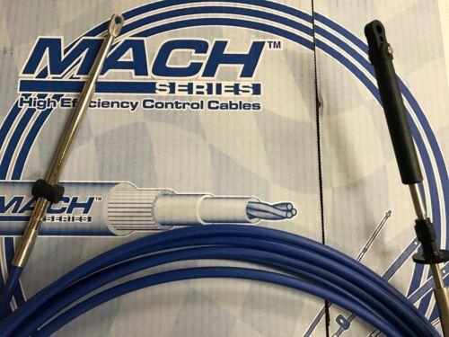 JOHNSON EVINRUDE CONTROL CABLE UFLEX MACH14X24 SHIFT THROTTLE CABLE 24FT MC14