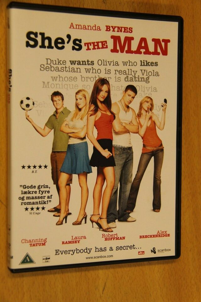 Shes The Man, instruktør Andy Fickman, DVD