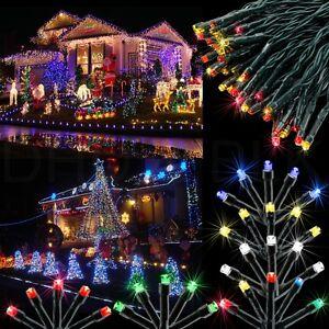 100 LED Solar Power Fairy Light String Lamp Party Christmas Xmas Decor Outdoor