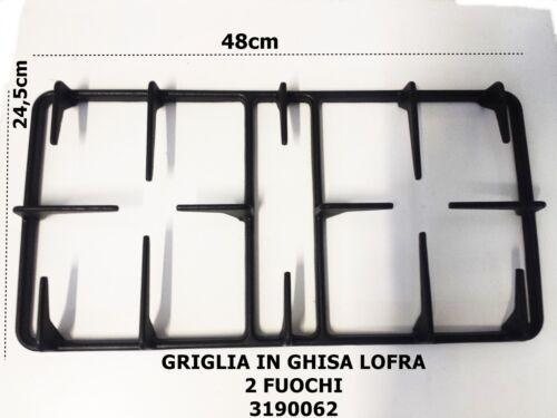 Griglia Ghisa Cucina Lofra 2 Fuochi 48x24,5 codice articolo 3190062
