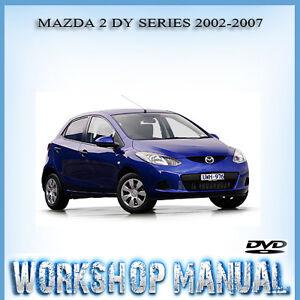 mazda 2 dy genki 2002 2007 repair service manual