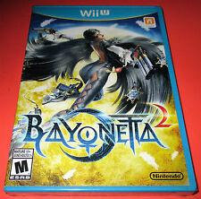 Bayonetta 2 Nintendo WiiU *Factory Sealed! *Free Shipping!