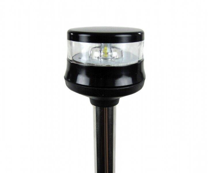 LED-Lichtmast Topplicht Rundumlicht Positionslicht Laterne 100cm 100cm 100cm Edelstahl 6768 1f18cc